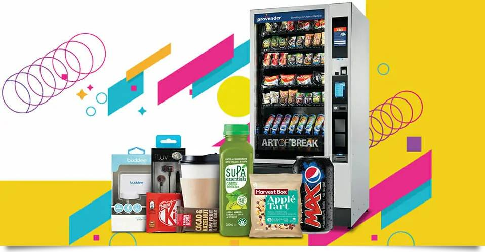 Vending Machine Convenience for Social Distancing